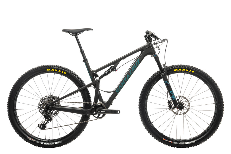 Santa Cruz Blur CC X01 TR Mountain Bike - 2020, Large drive side