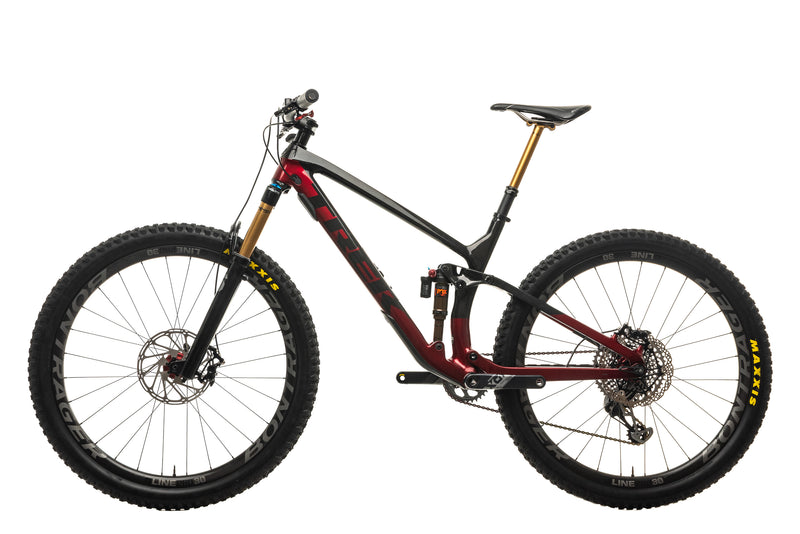 Trek Fuel EX 9.9 X01 AXS Mountain Bike - 2021, Large non-drive side