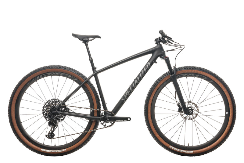 Specialized Epic Hardtail Expert Mountain Bike - 2019, Medium drive side