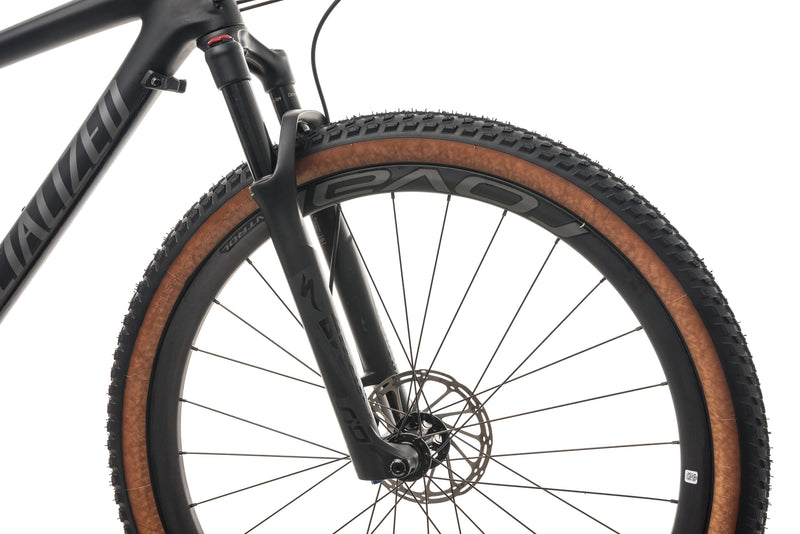 Specialized Epic Hardtail Expert Mountain Bike - 2019, Medium front wheel