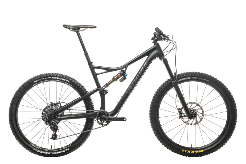 Specialized Stumpjumper FSR Comp 650b Mountain Bike - 2017, Large drive side