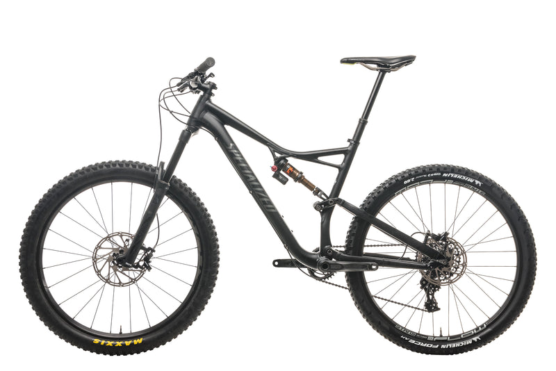 Specialized Stumpjumper FSR Comp 650b Mountain Bike - 2017, Large non-drive side