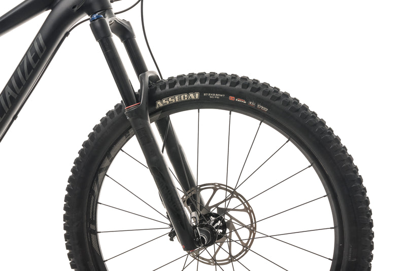 Specialized Stumpjumper FSR Comp 650b Mountain Bike - 2017, Large cockpit