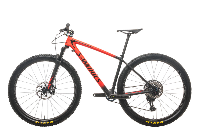 Specialized S-Works Epic Hardtail XX1 AXS Mountain Bike - 2018, Medium non-drive side