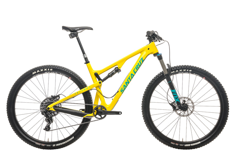 Santa Cruz Tallboy C Mountain Bike - 2017, Large drive side