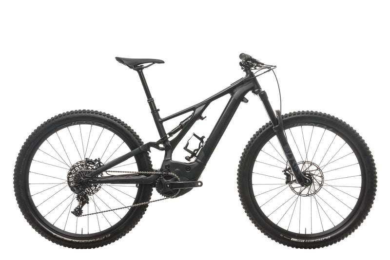 Specialized Turbo Levo Comp E-Mountain Bike - 2020, Medium drive side