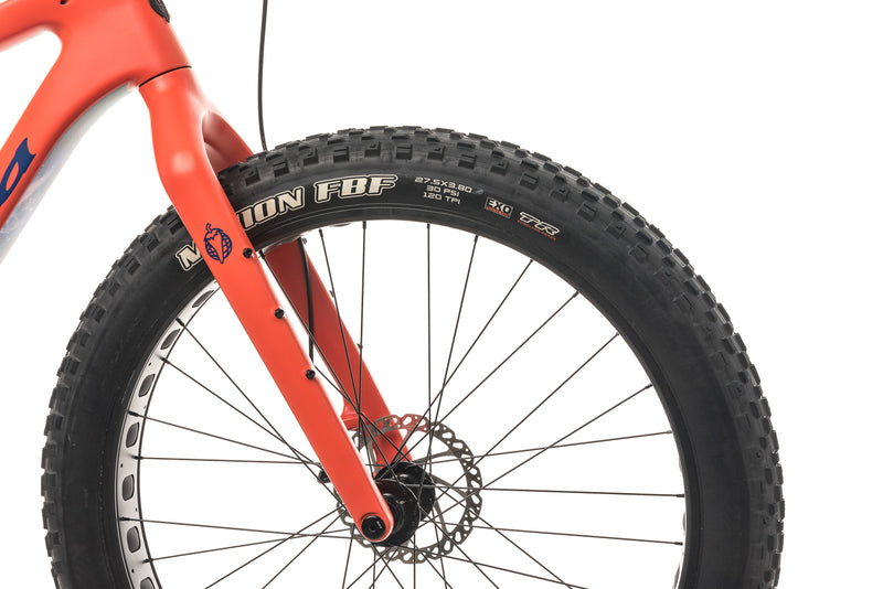 Salsa Beargrease Carbon NX1 Fat Bike - 2018, Large front wheel