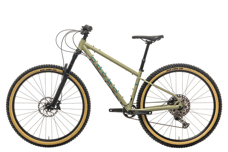 Marin Pine Mountain 2 Mountain Bike - 2021, Small non-drive side