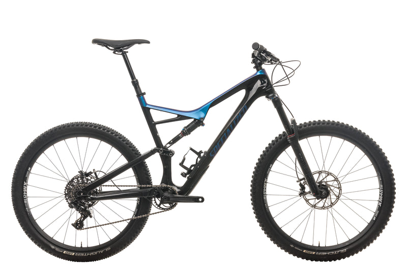 Specialized Stumpjumper FSR Comp Carbon 27.5 Mountain Bike - 2018, X-Large drive side