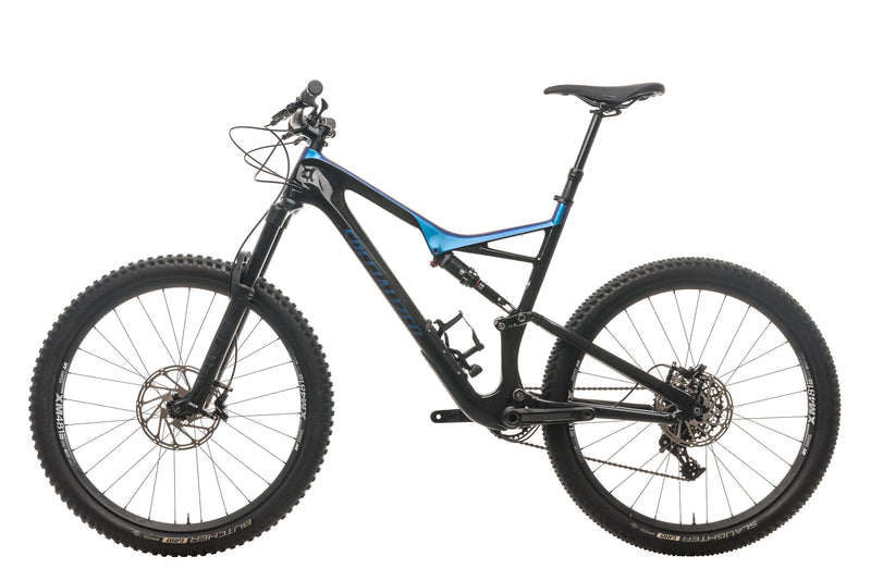 Specialized Stumpjumper FSR Comp Carbon 27.5 Mountain Bike - 2018, X-Large non-drive side