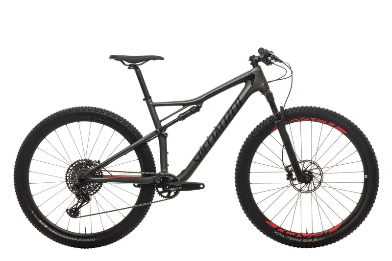 Specialized Epic Expert Mens Mountain Bike - 2018, Large drive side