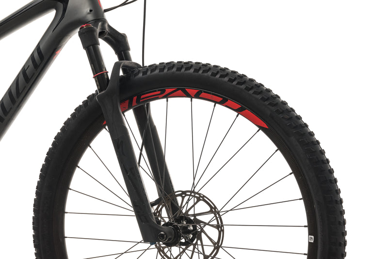 Specialized Epic Expert Mens Mountain Bike - 2018, Large cockpit
