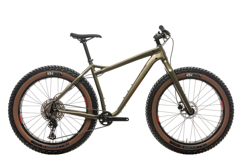 Salsa Mukluk Deore 11 Fat Bike - 2021, Large drive side