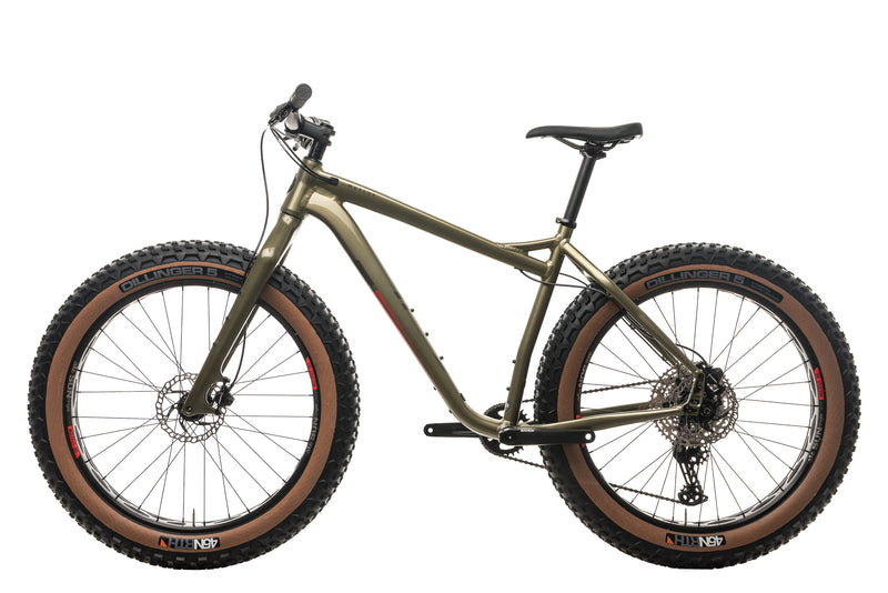 Salsa Mukluk Deore 11 Fat Bike - 2021, Large non-drive side
