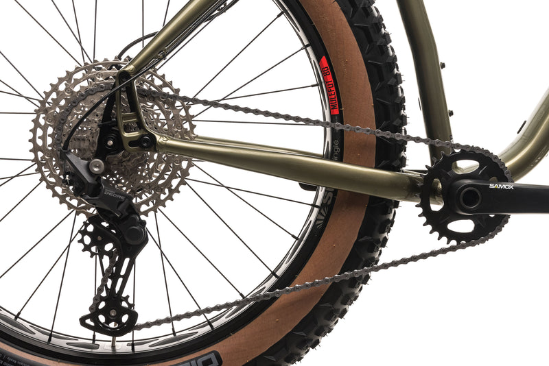 Salsa Mukluk Deore 11 Fat Bike - 2021, Large drivetrain