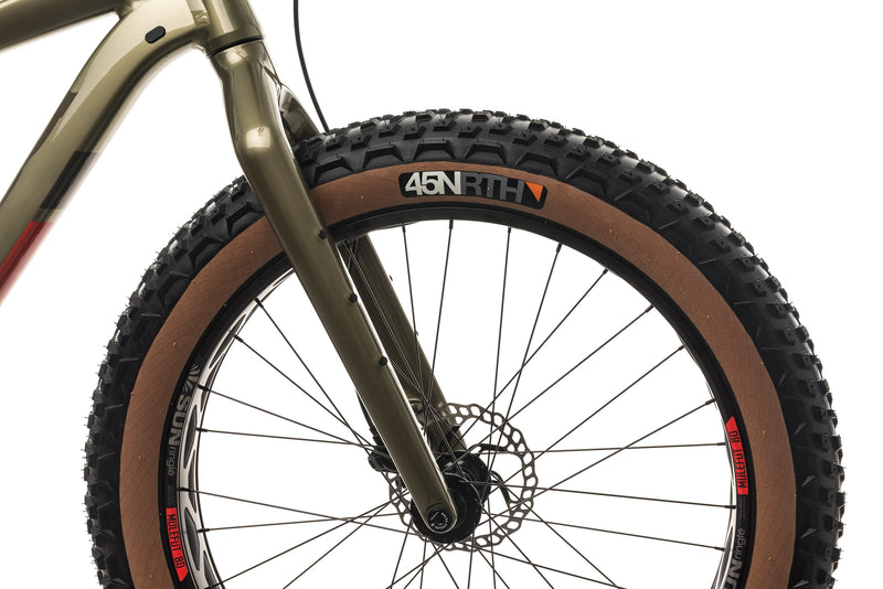 Salsa Mukluk Deore 11 Fat Bike - 2021, Large front wheel