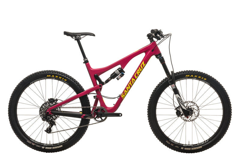 Santa Cruz Bronson C S Mountain Bike - 2016, Large drive side