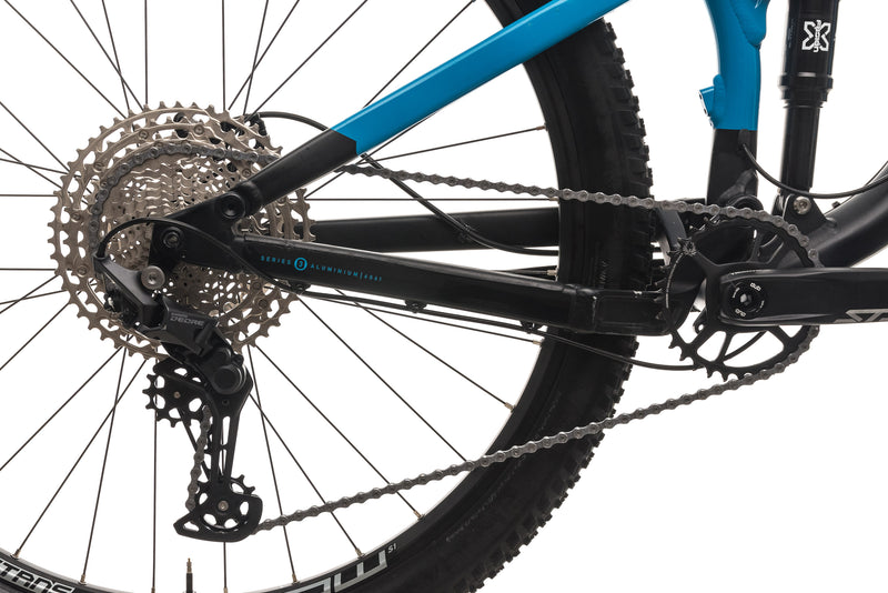 Marin Rift Zone 1 Mountain Bike - 2019, Large drivetrain