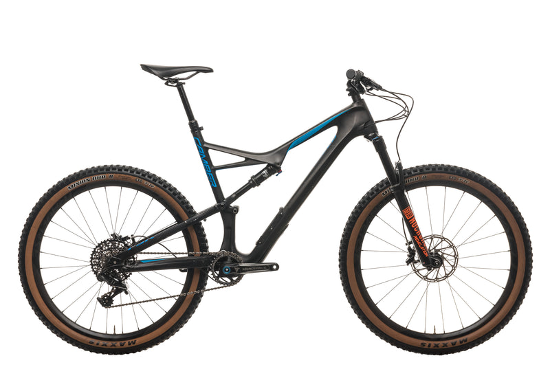Specialized Camber Comp Carbon 650b Mountain Bike - 2017, X-Large drive side