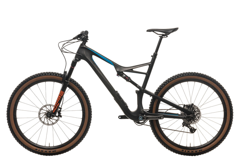 Specialized Camber Comp Carbon 650b Mountain Bike - 2017, X-Large non-drive side