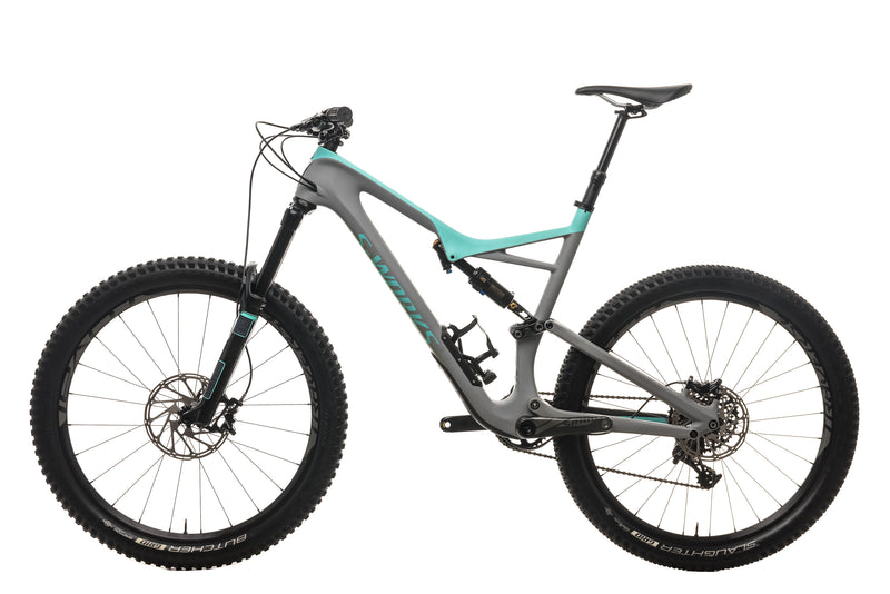 Specialized S-Works Stumpjumper FSR 650b Mountain Bike - 2017, X-Large non-drive side