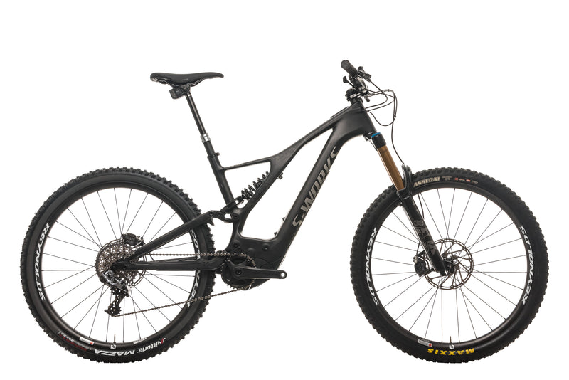 Specialized S-Works Turbo Levo Mountain E-Bike - 2020, Large drive side