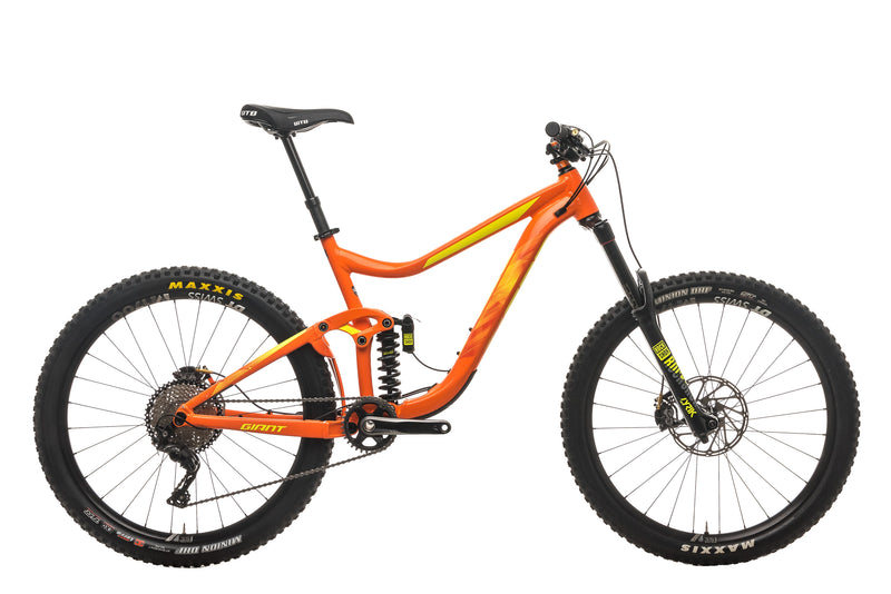 Giant Reign SX Mountain Bike - 2018, Large drive side