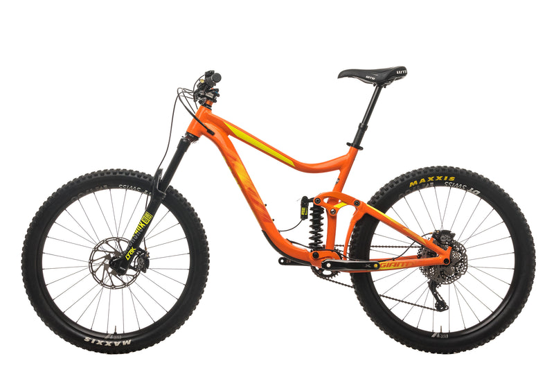 Giant Reign SX Mountain Bike - 2018, Large non-drive side