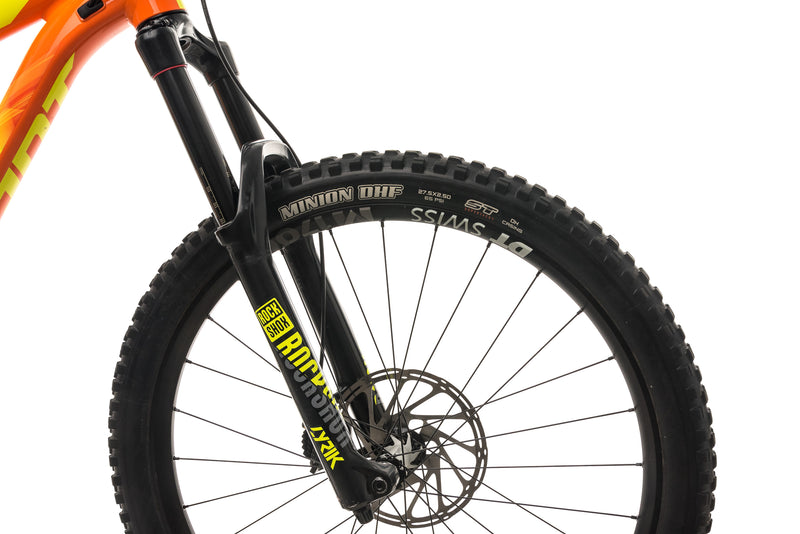 Giant Reign SX Mountain Bike - 2018, Large cockpit