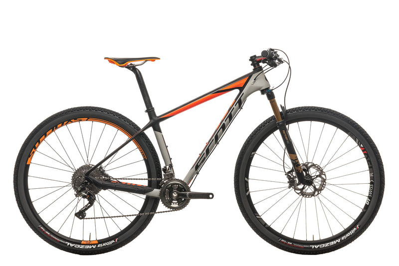 Scott Scale 900 Premium Mountain Bike - 2016, Medium drive side