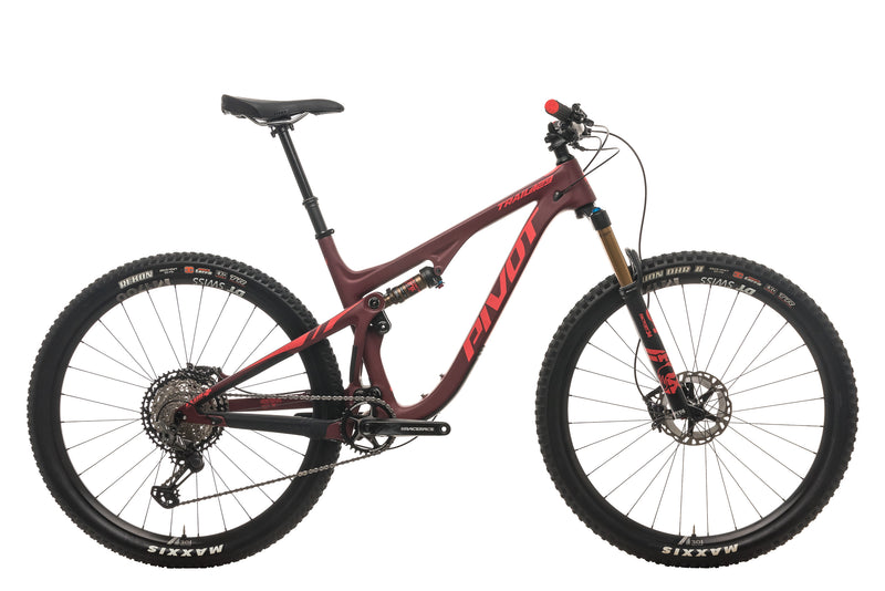 Pivot Trail 429 V2 Mountain Bike - 2020, Large drive side