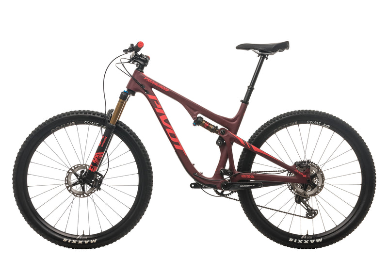 Pivot Trail 429 V2 Mountain Bike - 2020, Large non-drive side