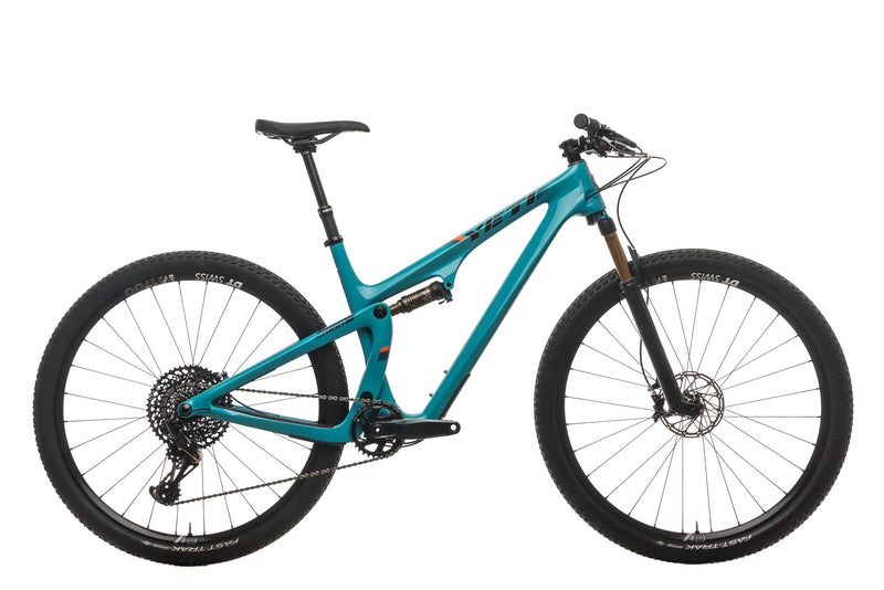 Yeti SB100 Turq Mountain Bike - 2019, Large drive side