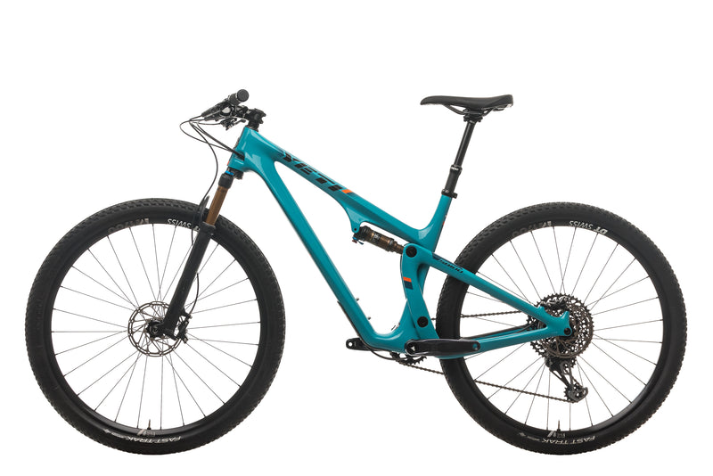 Yeti SB100 Turq Mountain Bike - 2019, Large non-drive side