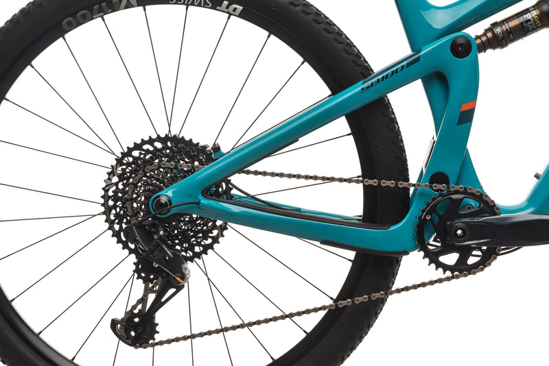 Yeti SB100 Turq Mountain Bike - 2019, Large drivetrain