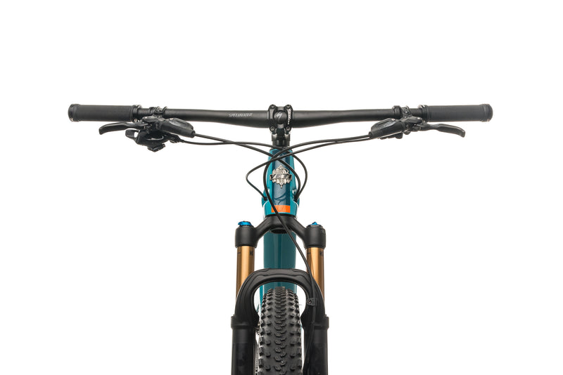 Yeti SB100 Turq Mountain Bike - 2019, Large crank