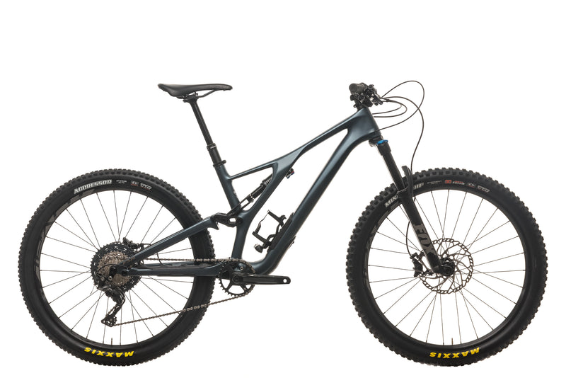 Specialized Stumpjumper ST Comp Carbon 27.5 Mountain Bike - 2018, Medium drive side
