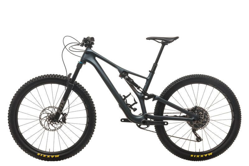 Specialized Stumpjumper ST Comp Carbon 27.5 Mountain Bike - 2018, Medium non-drive side