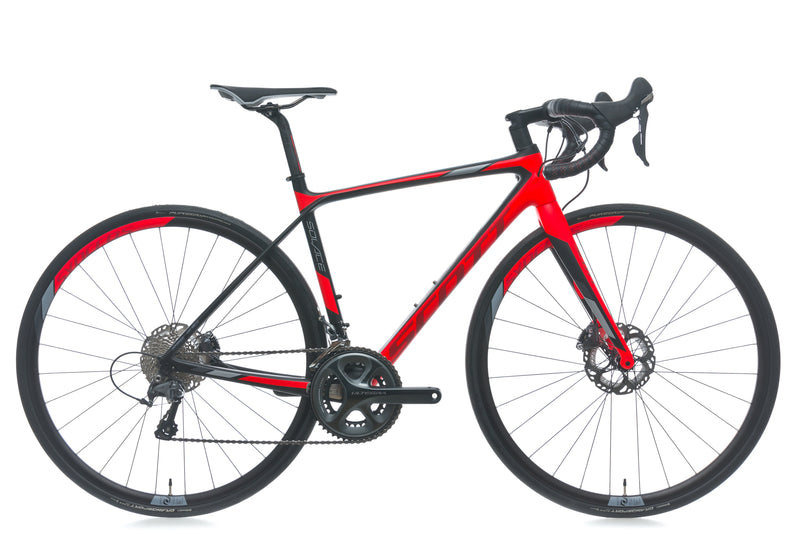 Scott Solace 10 Disc XS Bike - 2017 drive side