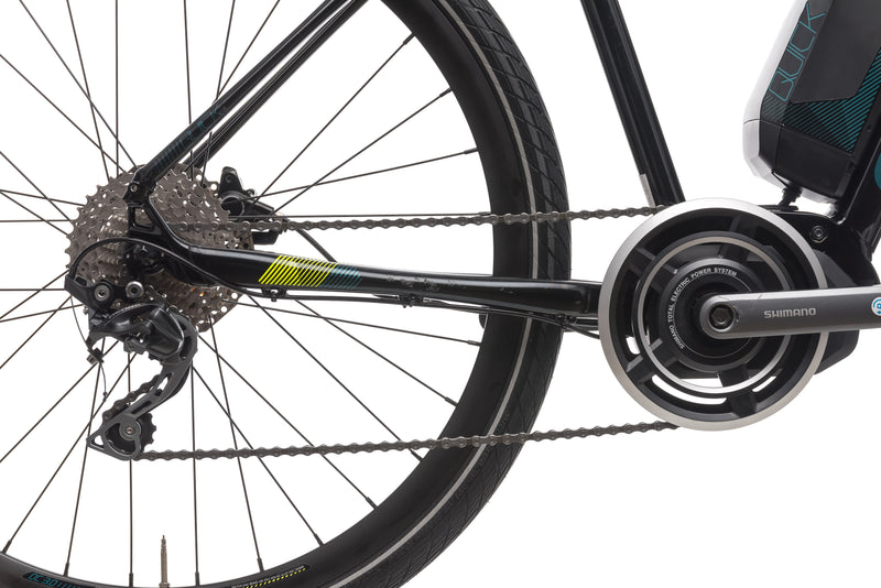 Cannondale Quick NEO Medium Bike - 2018 drivetrain