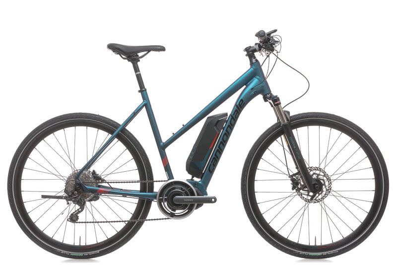 Cannondale Quick NEO womens Large E-Bike - 2018 drive side