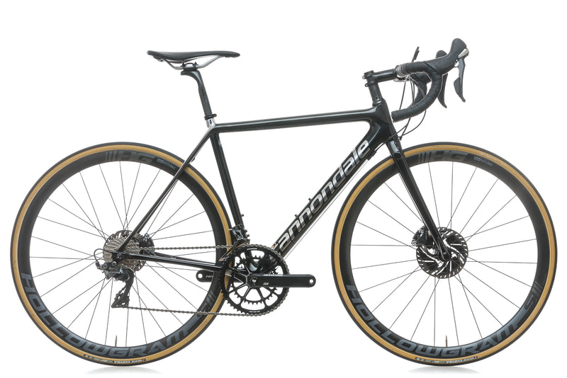 Cannondale SuperSix Evo Hi-MOD Disc Dura-Ace 50cm Bike - 2018 drive side