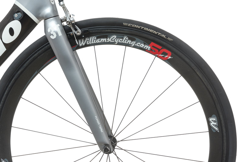 Cervelo S3 56cm Bike - 2009 front wheel