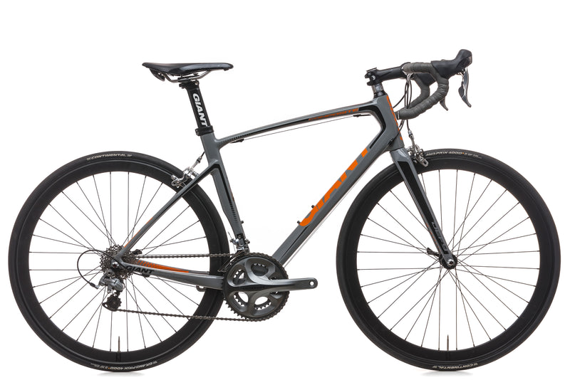 Giant Defy Composite 1 Medium Bike - 2014 drive side