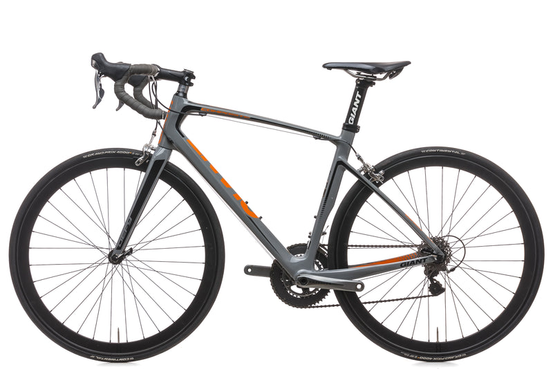 Giant Defy Composite 1 Medium Bike - 2014 non-drive side