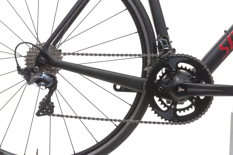 Specialized Tarmac Comp 56cm Bike - 2018 drivetrain