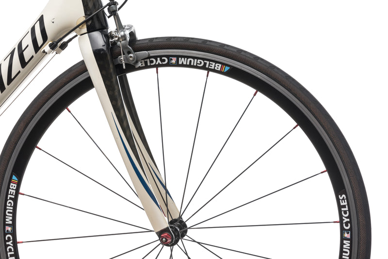 Specialized Tarmac Expert 58cm Large Bike - 2010 front wheel