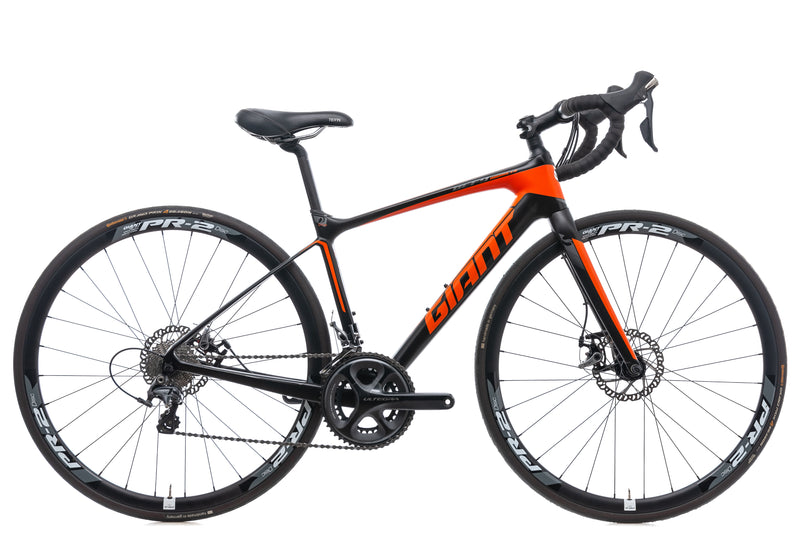 Giant Defy Advanced 1 Bike - 2015 drive side