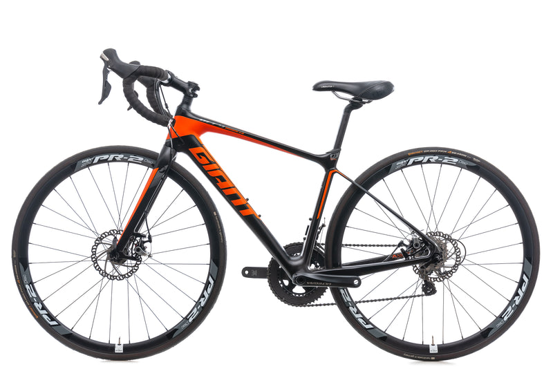 Giant Defy Advanced 1 Bike - 2015 non-drive side