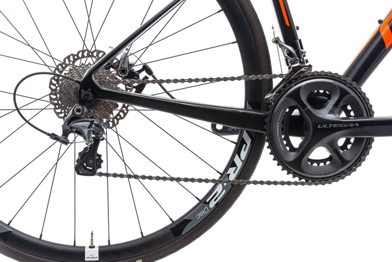 Giant Defy Advanced 1 Bike - 2015 drivetrain
